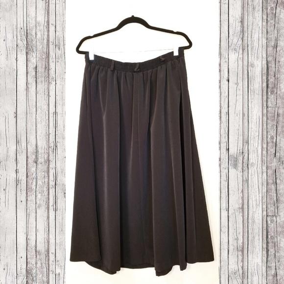 Vintage Dresses & Skirts - VINTAGE PLUS Willow Ridge A-line Midi Skirt
